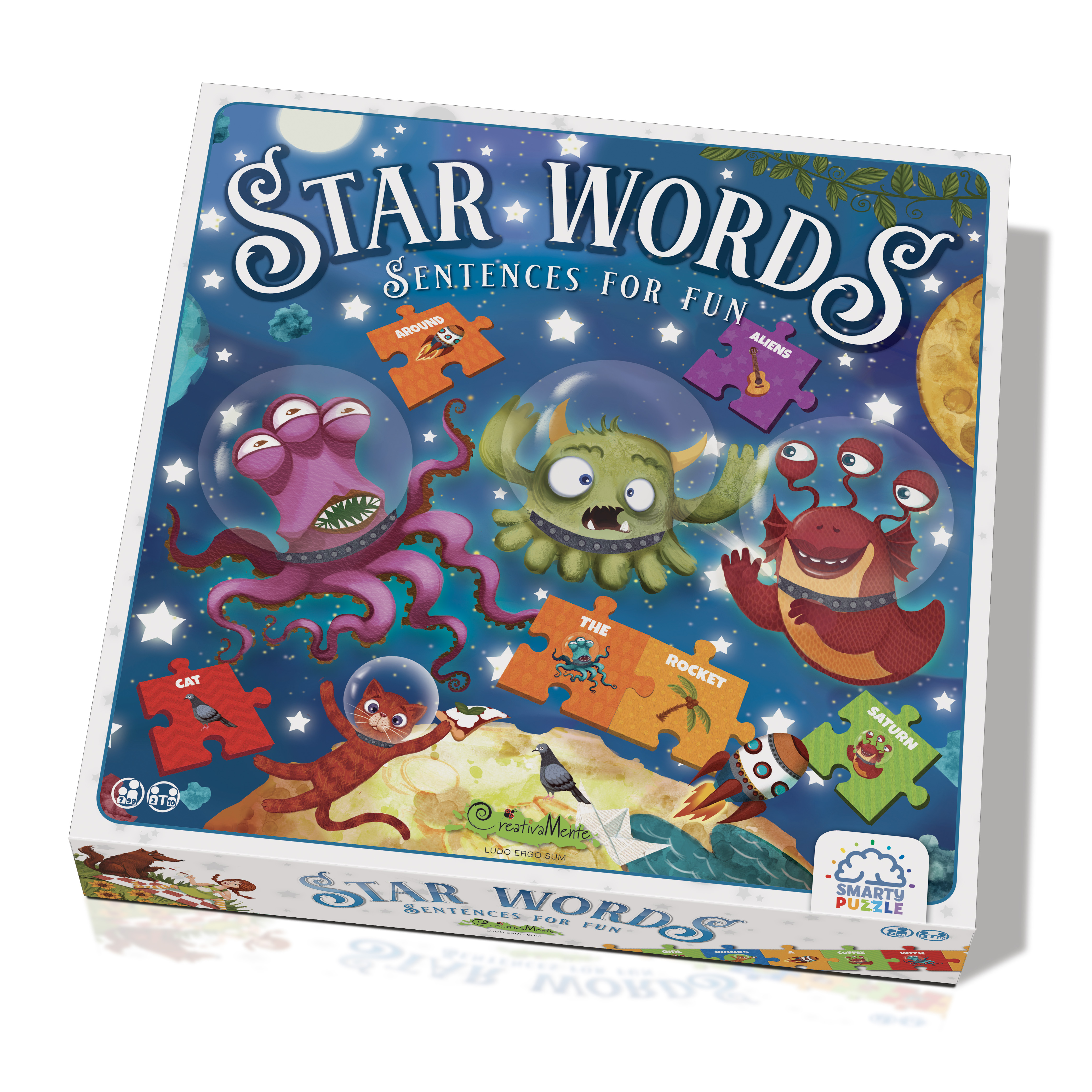 Star Words – Sentences for fun