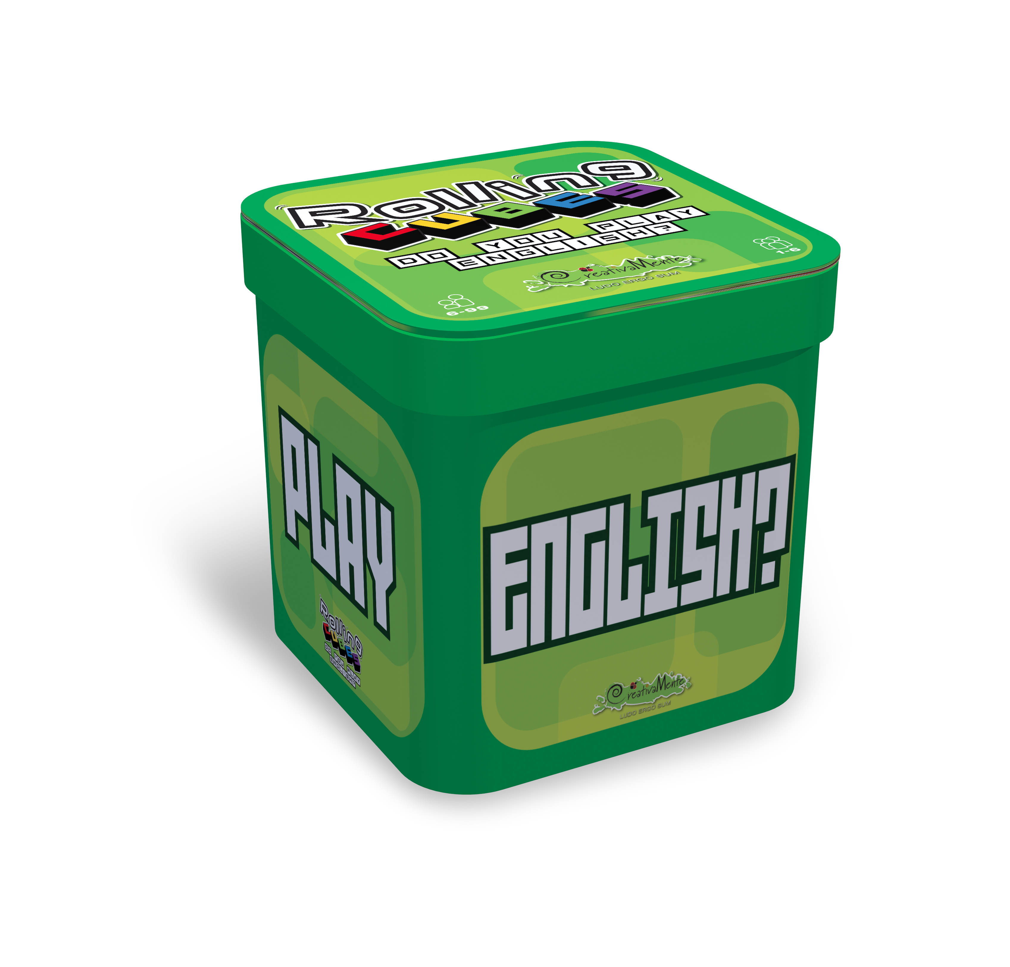 Rolling CUBES Do You Play English? - Gioco